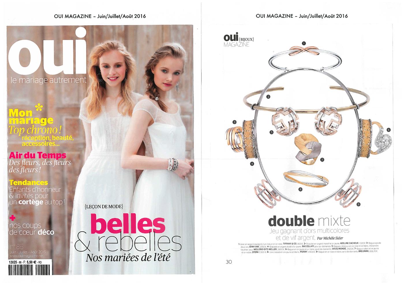 Adeline Cacheux Jewelry Design Mariage bijou jonc