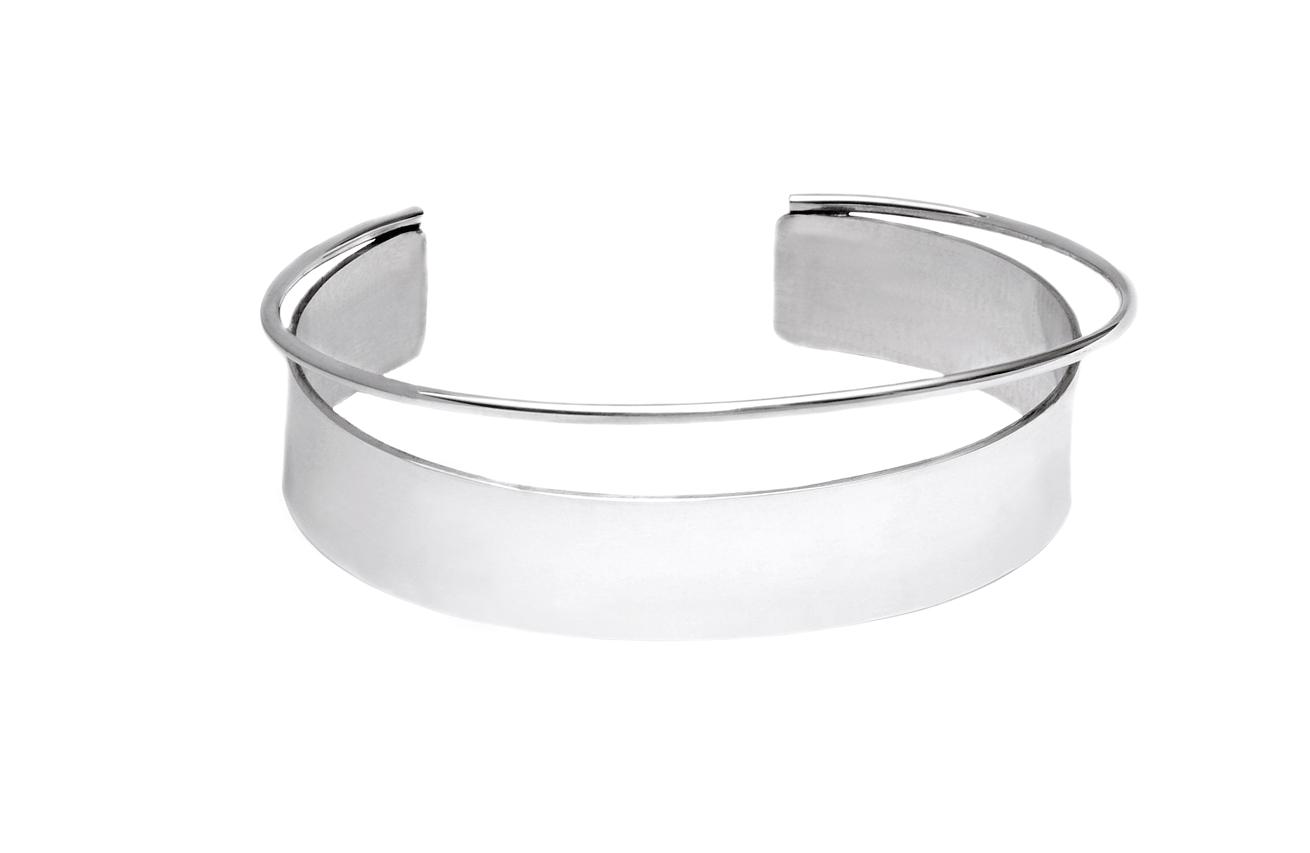 Adeline Cacheux Jewelry Design jonc argent massif bangle silver