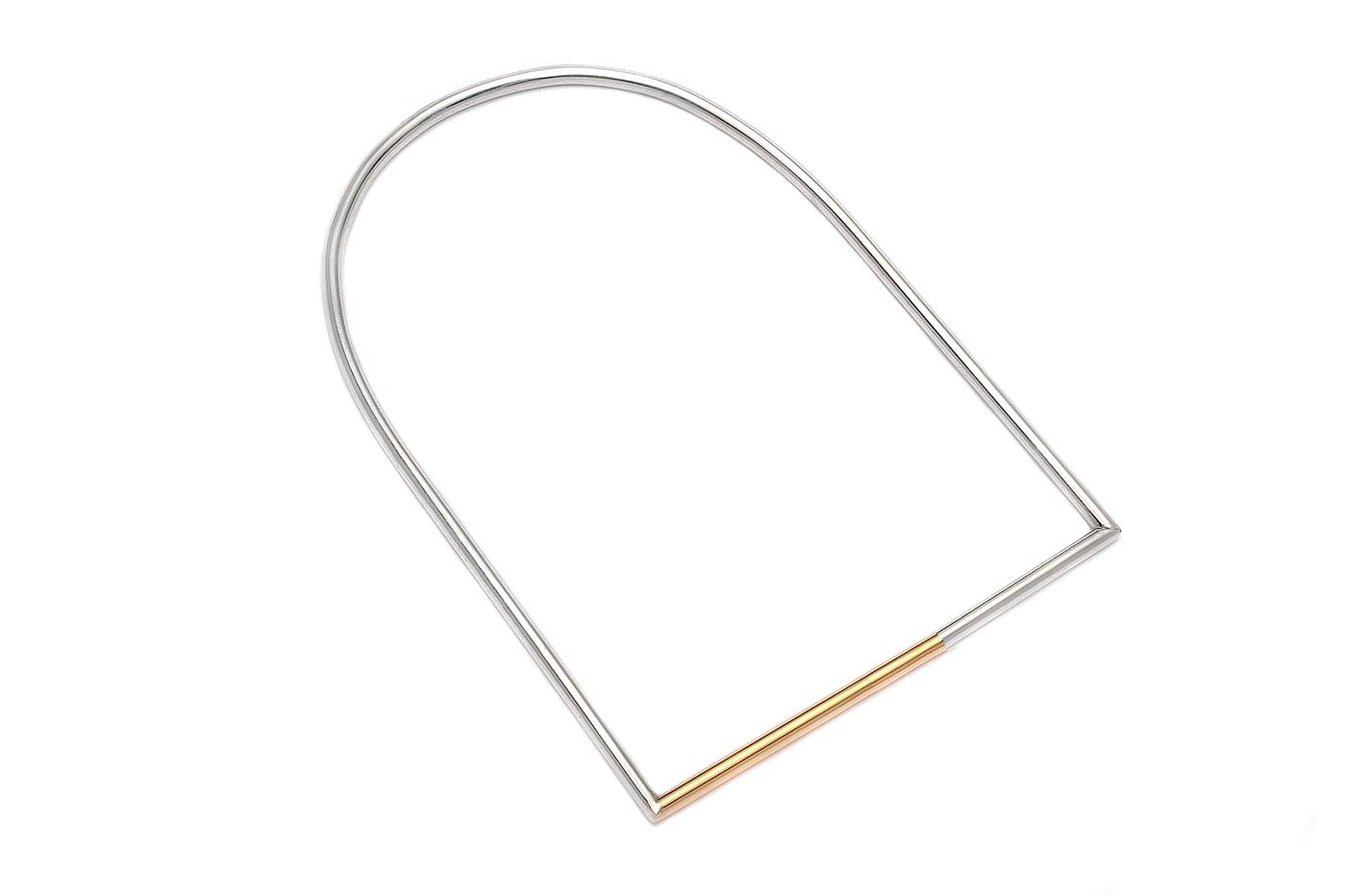 Adeline Cacheux Jewelry Design bracelet étrier argent or 18 carats