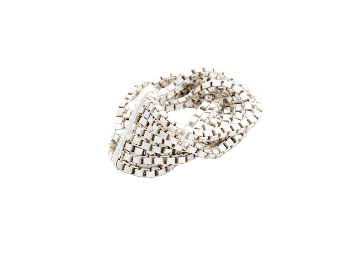Adeline Cacheux Jewelry Design Bague Metal Box Argent