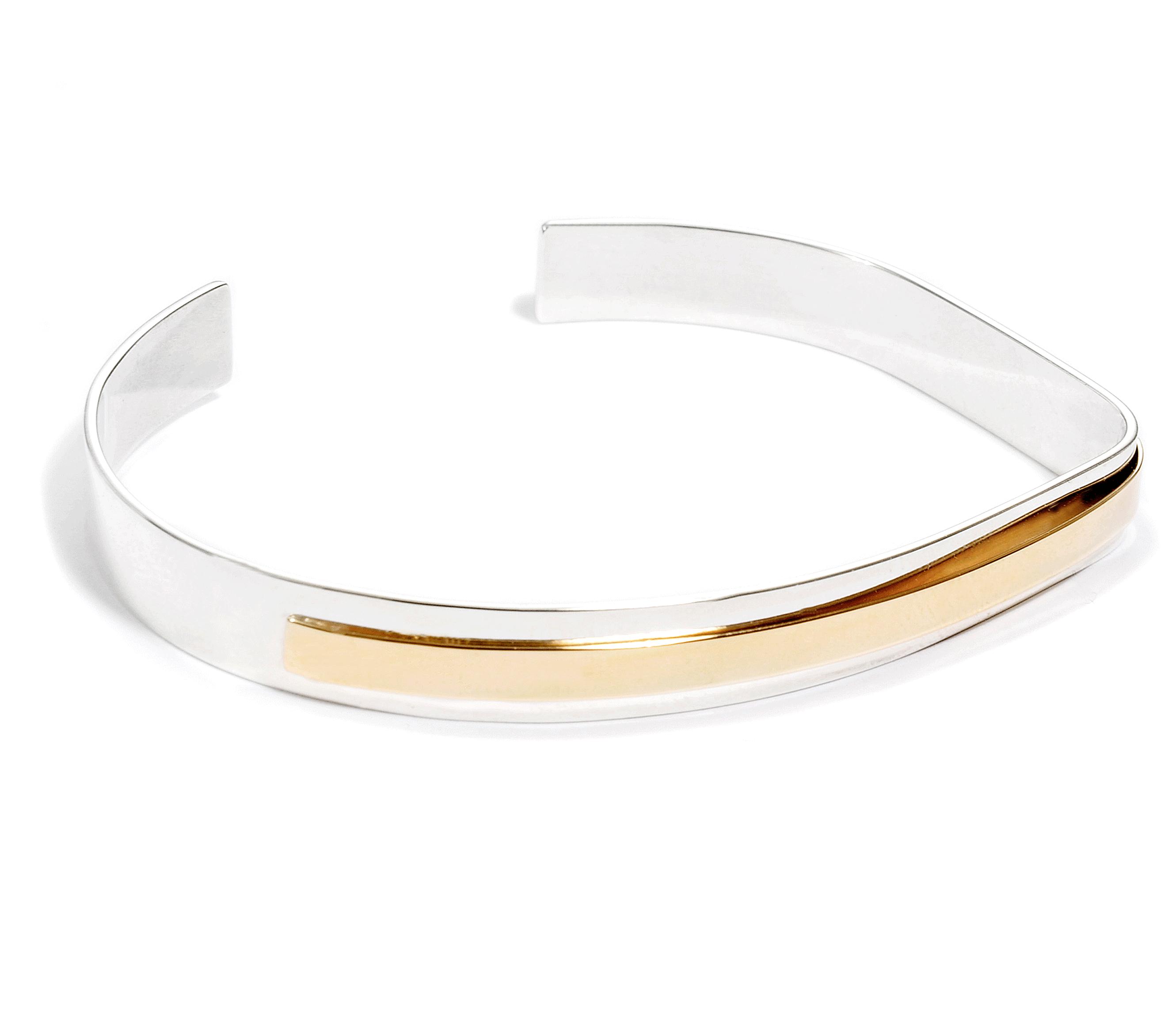 Adeline Cacheux Jewelry Design Jonc argent