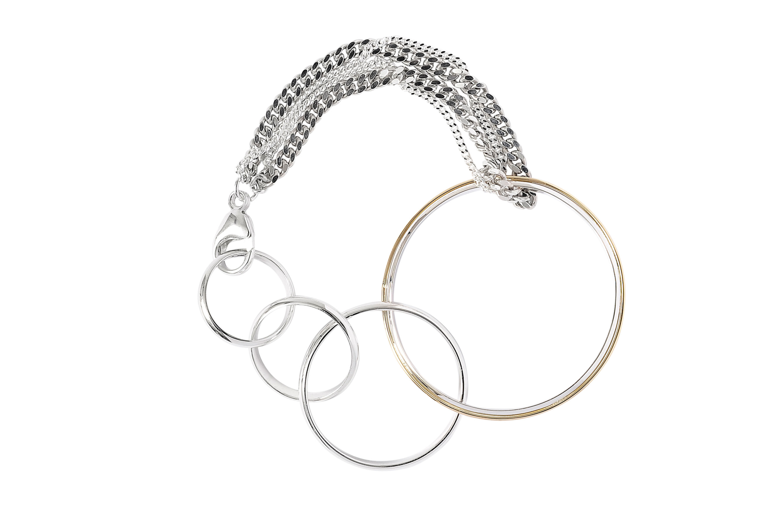 adeline cacheux bracelet silver