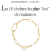 adeline cacheux collier chaines chaine maillons