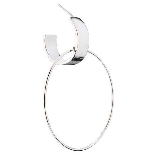 adeline cacheux créoles boucles d'oreilles anneaux