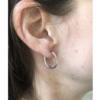 adeline cacheux créole earrings silver gold