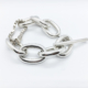 bracelet chaine épaisse maillons larges