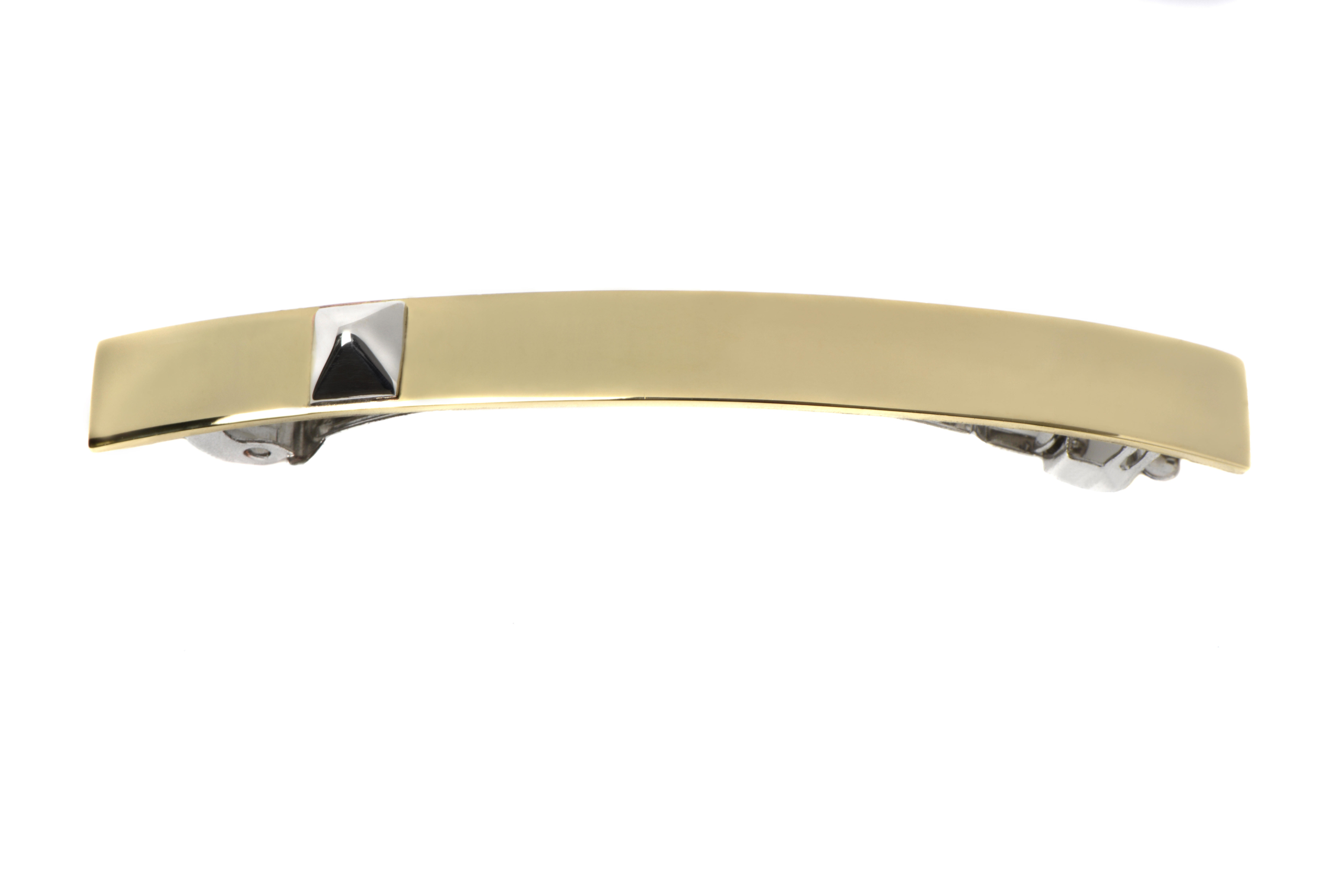 barrette argent luxe