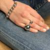 Bracelet étrier en argent bracelet galot