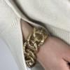 bracelet maillons larges adeline cacheux